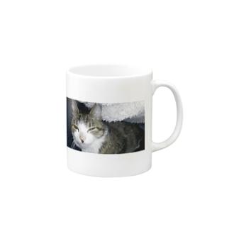 眩しいやんか!なしまさん Mugs