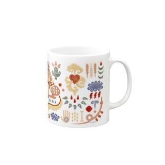 COYOTE 【PINK】 Mugs