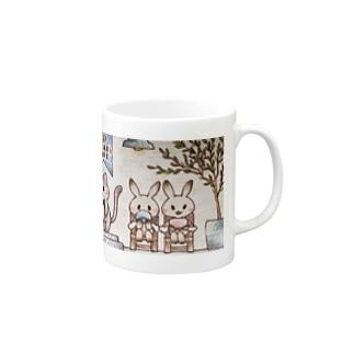 Bear's cafe の仲間たち Mugs