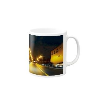 サイレントタウン Mugs