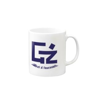 G'zチャリティーマグカップ(青) Mugs