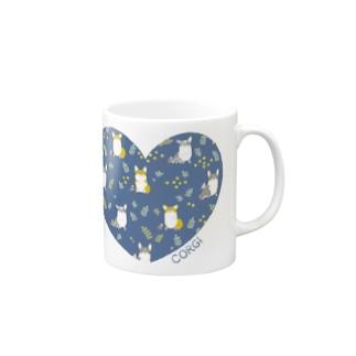 LOVEコーギー Mugs