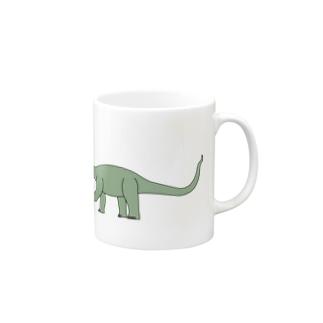 カマラサウルス Mugs
