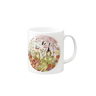 ダイゴ&ケイコ雛祭り Mugs