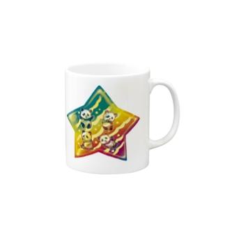 パンダスター Mugs