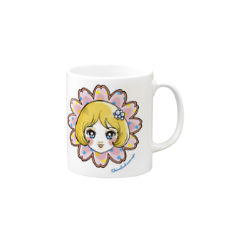 白ふくろう舎の花少女2 Mugs
