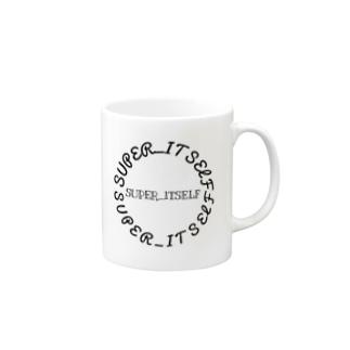SUPER_ITSELF Mugs