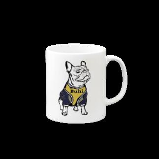Buhiroomのブヒマグのキ Mugs
