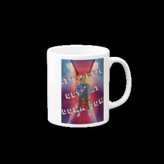 RDesignのLET'S GET DOWN Mugs