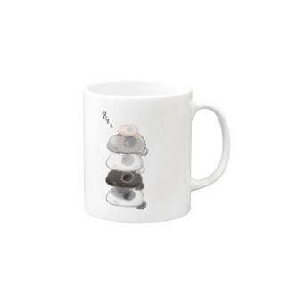 おねむなチンチラちゃんたち Mugs