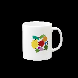 LanbR(ランブル)のブーケ(文字なし) Mugs