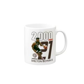 BOYKIN通算2,000得点記念マグカップ Mugs