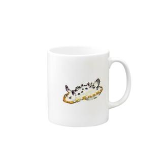 レンゲウミウシのマグカップ Mugs