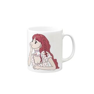 女の子④ Mugs