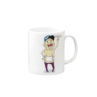 パーリーピーポー(じいさん)PARIJI Mugs