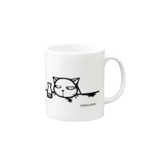 徳利ネコ Mugs