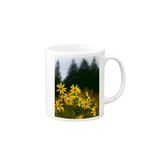 菊芋と樹木 DATA_P_139 tree Mugs