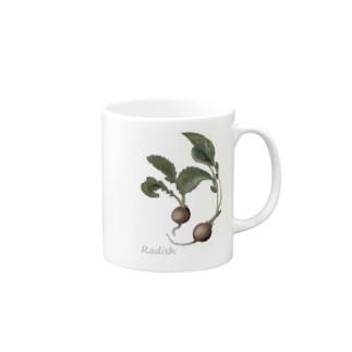 Radish Mugs