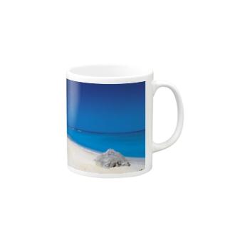 波照間島 ニシ浜 Mugs
