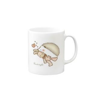 ハリネズミ☆おやすみマグカップ Mug