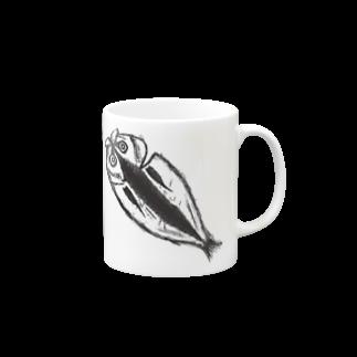 HKSHRY27のアジの開き Mugs