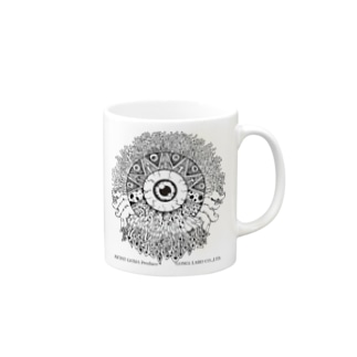 GOD EYE Mugs
