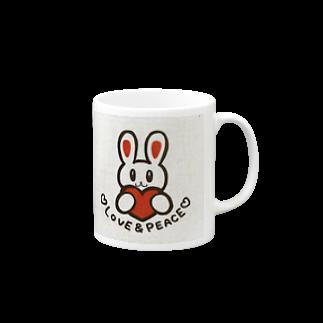 tomoe_yamauchi_love_のLOVE & PEACE Mugs