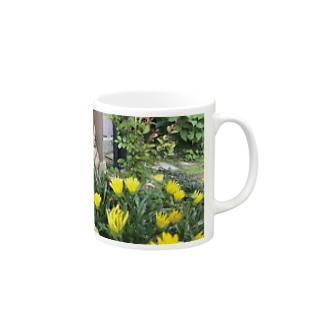 しろた屋の花うさぎ Mugs