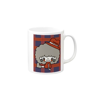 もこもこあたま♡ちぇっく Mugs