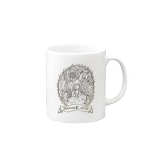 マメンスク物語(表紙画) Mugs