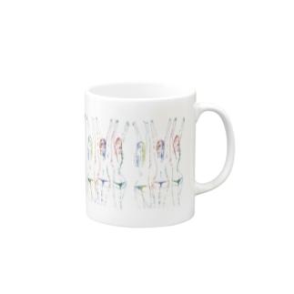 万歳三少女 1 Mugs