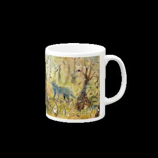月ノ子の森に恋してのムラナギ/ロボ Mugs