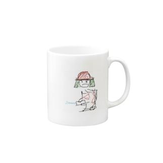 しょうぼうしのとこえださん Mugs