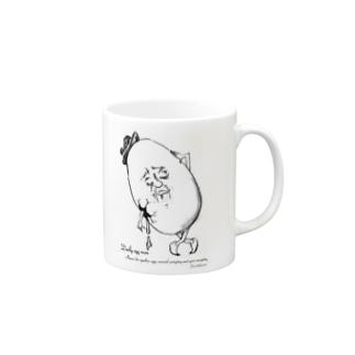 たまご人の日常 Mugs