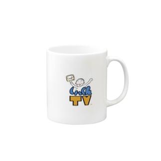 いっくんTVのロゴその2 Mugs