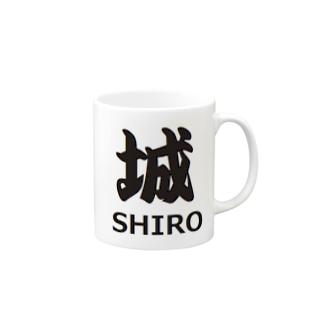 城 歴史 日本史 Mugs