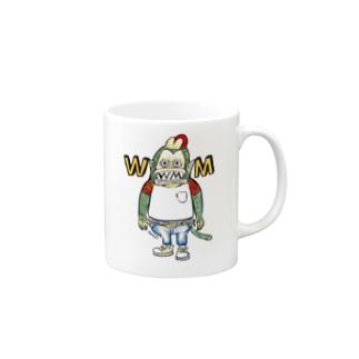 ハードワイルドモンキー Mugs