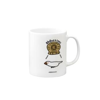 白文鳥アブダクション2 Mugs