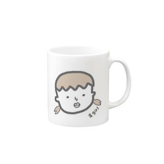 a girl Mugs