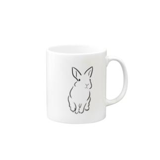 うさぎ Mugs