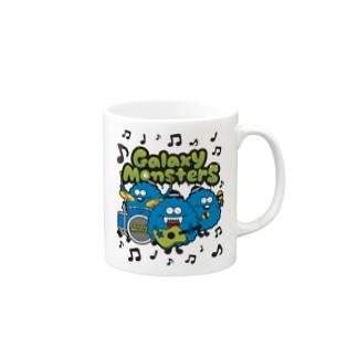 Galaxy Monsters マグカップ