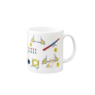 アジリティードッグ コーギー Mugs