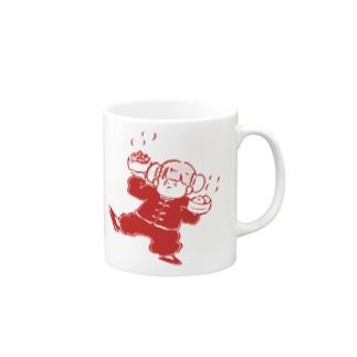 チャイナ子ちゃん(豆板醤) Mugs