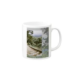 mountain view Mugs