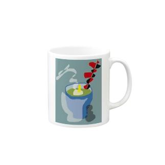 茶柱 Mugs