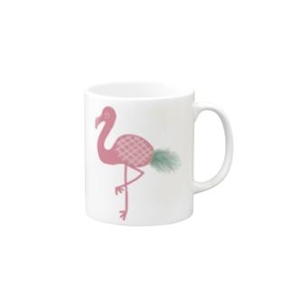 印工グ(印エグ) フラパイン Mugs