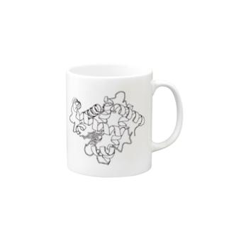 myoglobin ミオグロビン Mugs