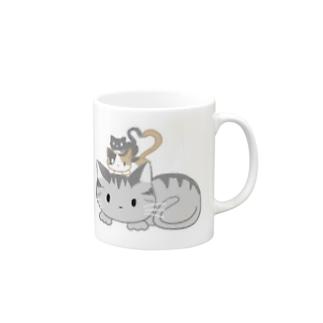 3びきの猫 Mugs