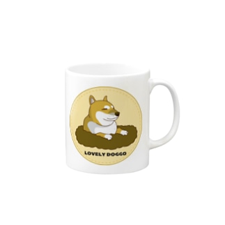 穴掘り犬こむぎさん2 Mugs