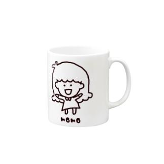 モモガール Mug